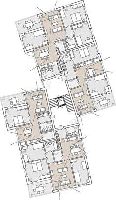 Architecture Definition, Architecture Site Plan, Hotel Architecture, Concept Architecture, Residential Architecture, The Plan, How To Plan, Residential Building Plan, Site Plan Design