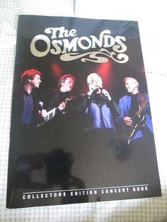 Osmonds Official Programme 2006 UK Tour Jimmy Jay Merrill Wayne Osmond Jay, Tours, Concert, Concerts