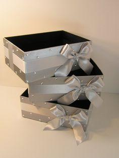 Wedding  Program Box Amenities Box Bathroom por bwithustudio, $32.00