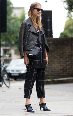 ❤️outfit | Street Style LFW SS15