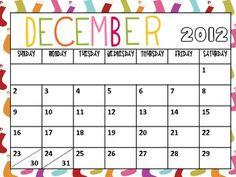 Free 2012-2013 School Year Calendar