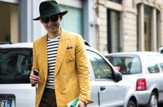 The best dressed men on the streets of Milan for the SS '16 collections