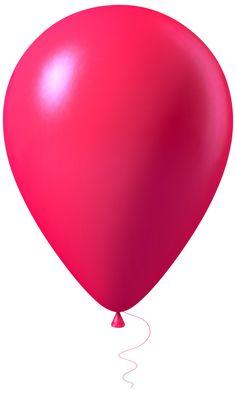 Pink Balloon Transparent PNG Image