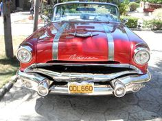 Great car from the streets of Cuba, likely a slightly modified 1956 Pontiac Star Chief