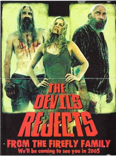 I scary movies~! Rob Zombie Film, Zombie Movies, Scary Movies, Horror Movies, Good Movies, Horror Art, The Devil's Rejects, White Zombie, American Horror