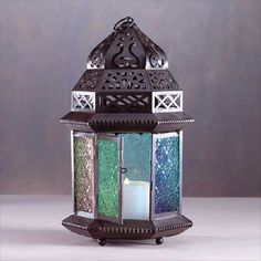 Unique Candle Chandelier and Candle Holders