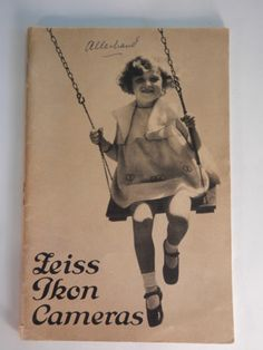 Vintage 1932 Zeiss Ikon Camera Catalogue Catalog | eBay