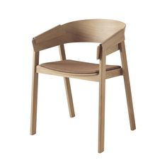 Cover Chair - Seat Upholstered Cover Chair - Seat Upholstered Designer: Thomas Bentzen Manufactured by: Muuto Dimensions (in): 22.25 w | 18.1 d | 30 h | seat: 18.1 700