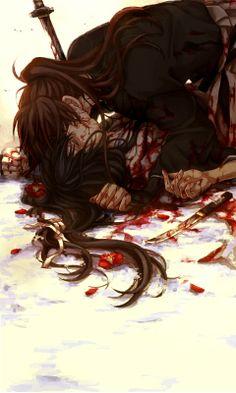 Yukishiro Tomoe & Himura Kenshin,Hitokiri Battosai - Samurai X: Reflection,Anime Rurouni Kenshin, Kenshin Anime, Tomoe, Manga Anime, Anime Art, Anime Love, Anime Guys, Kenshin Le Vagabond, Samurai