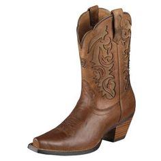 Ariat cowboy boots :)