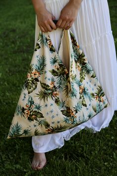 sac origami. Collection capsule été 2018. Création HL - Héloïse Levieux Textiles, Collection Capsule, Origami, Creations, Floral, Skirts, Fashion, Bags, Objects