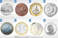 rarest and most valuable error coins in circulation - do you have an undated or a with a typo? Could you have a valuable coin in your collection that contains a minting error?Could you have a valuable coin in your collection that contains a minting error? Rare Coins Worth Money, Valuable Coins, Bullion Coins, Silver Bullion, Rare British Coins, English Coins, Coin Dealers, Foreign Coins, Rare Stamps