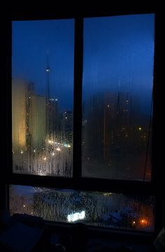 There's nothing I love more than hearing rain at the window pane at night