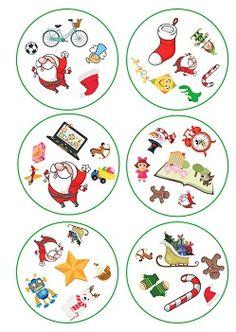 Dobble Christmas and toys Preschool Christmas, Christmas Games, Christmas Activities, Christmas And New Year, Kids Christmas, Preschool Activities, Christmas Crafts, Diy For Kids, Crafts For Kids