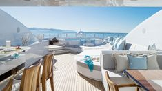 We pick out seven of the best superyacht sundecks — ideal designs for relaxing al fresco and soaking up some rays