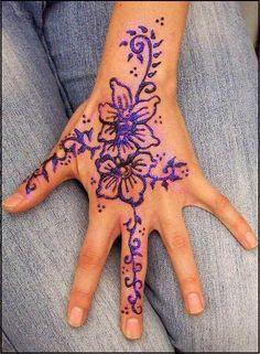 Had a Henna tattoo.