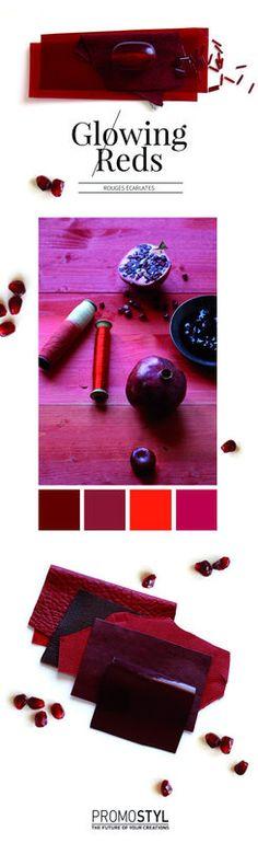 Promostyl : Les Rouges Écarlates, point fort couleur - SS16 - Tendances (#562187)