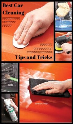 Best Car Cleaning Tips and Tricks: Ten simple ways to get your car looking almost brand new! http://www.familyhandyman.com/automotive/car-maintenance/best-car-cleaning-tips-and-tricks