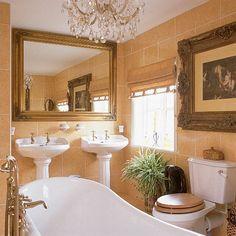Goldbarock Bad Wohnideen Badezimmer Living Ideas Bathroom