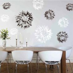 Spiky Wall Decals