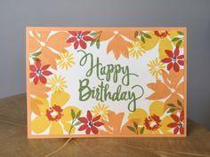 Blooms and Wishes Stampin Up Inspiring inkin Amanda Fowler