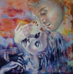 art Transcendental by Dorina Costras Art.