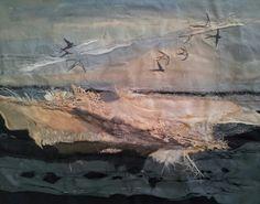 In progress - Laura Edgar #textile art