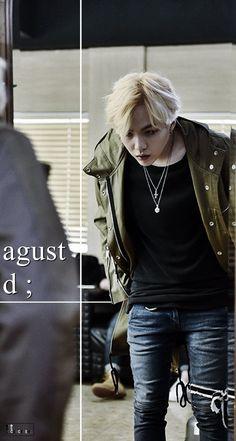 BTS / Agust D / Wallpaper ©btslockscreens