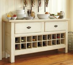 awesome buffet, on sale at pottery barn! ( i still can't afford it, but a girl can dream!)