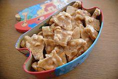 Cinnamon?  Peanut brittle?  Cinnamon peanut brittle??