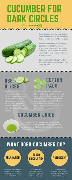 Use cucumber to remove dark circles under your eyes. Use cucumber to remove dark circles under your eyes. Use cucumber to remove dark circles under your eyes. Use cucumber to remove dark circles under your eyes. Makeup Tricks, Makeup Ideas, Anti Aging, Beauty Hacks Skincare, Beauty Tips, Diy Beauty, Skincare Routine, Beauty Care, Cucumber On Eyes