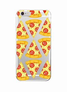 Snack Food Soft Clear Phone Case For iPhone 7 7Plus 6 6S 6Plus 5 8 8Plus X SAMSUNG