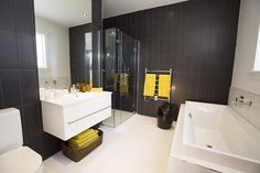 Pete and Andy's Bathroom and Laundry Reveal - Room Reveals - Pete and Andy - Teams - The Block NZ - Shows - TV3