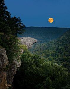 Hawksbill Crag, Upper Buffalo Wilderness, Ozark National Forest, Arkansas