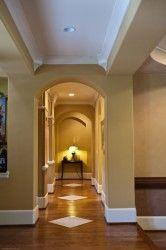 cool hallway...arch