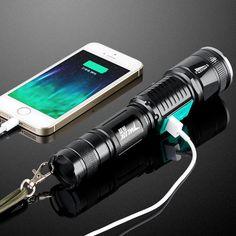 Military Grade Tactical LED Flashlight