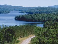 motorcycle touring in adirondack park -- doesn't get prettier than this. read our tour!