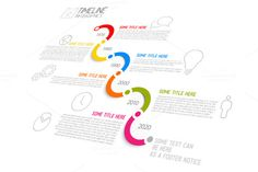 Vector Timeline Template ~ Presentation Templates on Creative Market