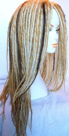 Blonde Dreadlock Wig 9