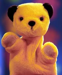Sooty - I met him. He kissed my cheek when I was 2, and I cried.