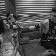Jinxx and Andy Black Veil Brides