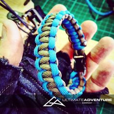 Gray and Sky Blue Paracord Survival Bracelet from www.ultimateadventures.co.za  #gray #grey #skyblue #blue #bracelet #paracord #paracord550 #paracordsurvival #paracordsurvivalbracelet #survival #paracordporn #outdoorgear #survivalbracelet #survivalparacord #survivaladventure #edc #everydaycarry #adventure #survivalgear #adventuregear #adventurebracelet #ultimateadventure #ultimateadventureco #ultimateadventures #paracordon #cordcraft #craft #outdoorcraft