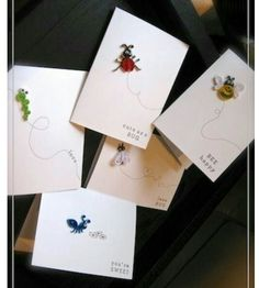 Sweet Greetings Quilled Card -  1 @ Rs. 199 | Set of 5 @ Rs. 799