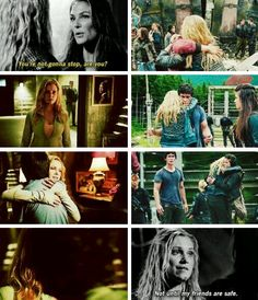 The 100 - Clarke #2.5 #Season2 Not until my friends are safe. <3