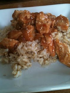 Slow Cooker Honey Sesame Chicken - gluten and dairy free too