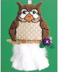 Oscar Owl Feather Duster