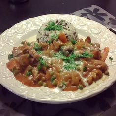 いいね!12件、コメント1件 ― Cecilie Jensenさん(@cildwild)のInstagramアカウント: 「So delicious #hayashirice #cookingwithdog #food #cooking #dinner #love」