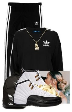 Adidas by aniahrhichkhidd ❤ liked on Polyvore featuring adidas Originals and Movado