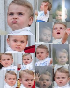 Many faces of Baby Prince Louis🇬🇧 ________________________________________…