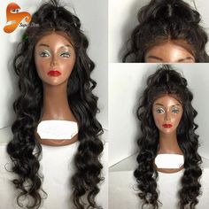 8A Body Wave Full Lace Human Hair Wigs For Black Women Brazilian Virgin Hair Lace Front Wig Wet And Wavy Glueless Full Lace Wigs